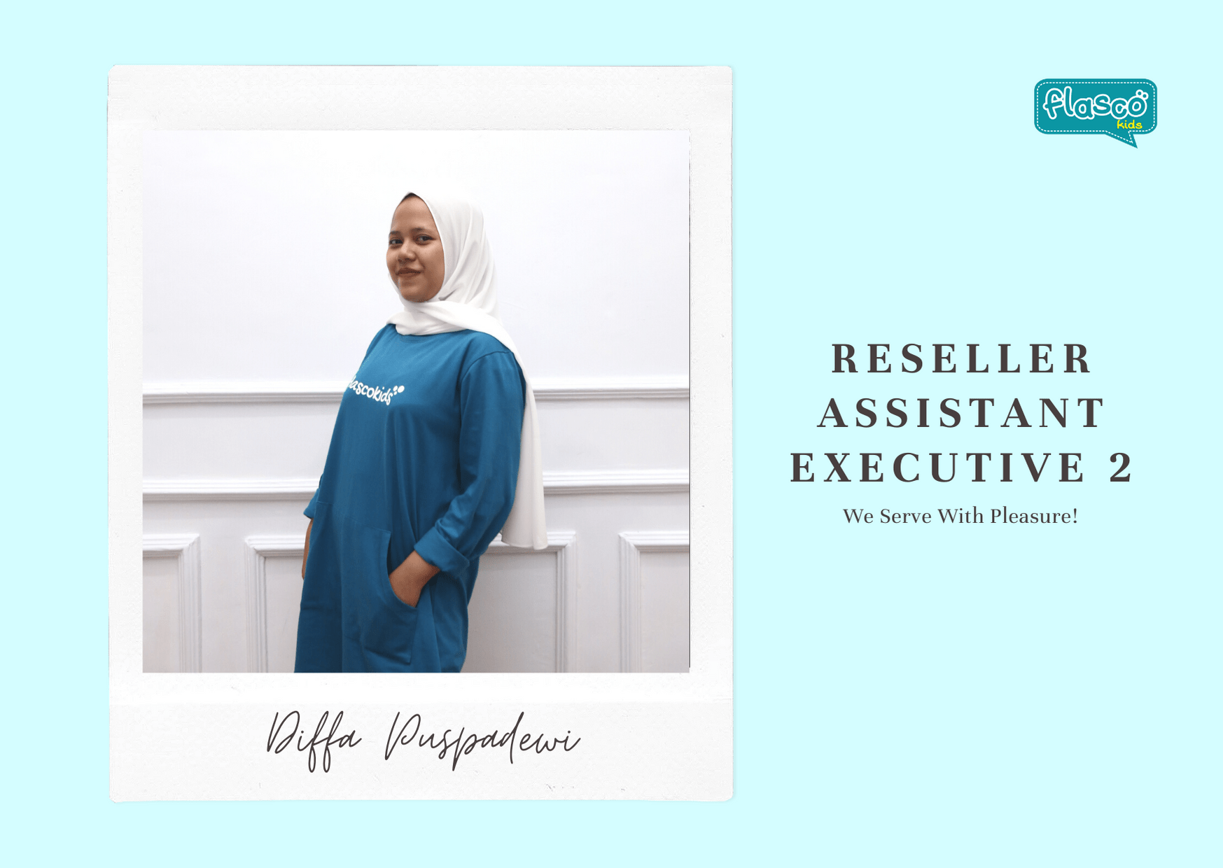 reseller assistant executive 2 flascokids