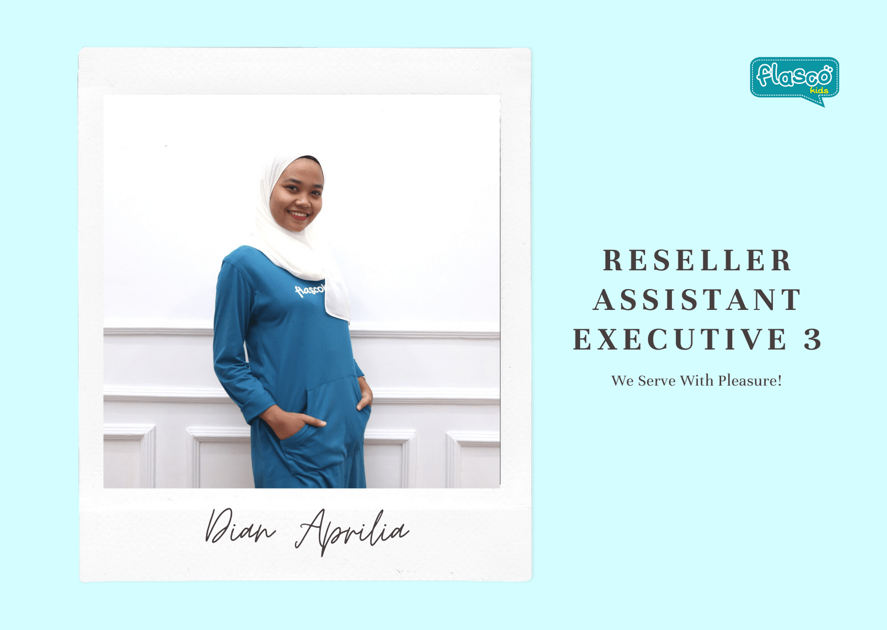 reseller assistant executive 3 flascokids
