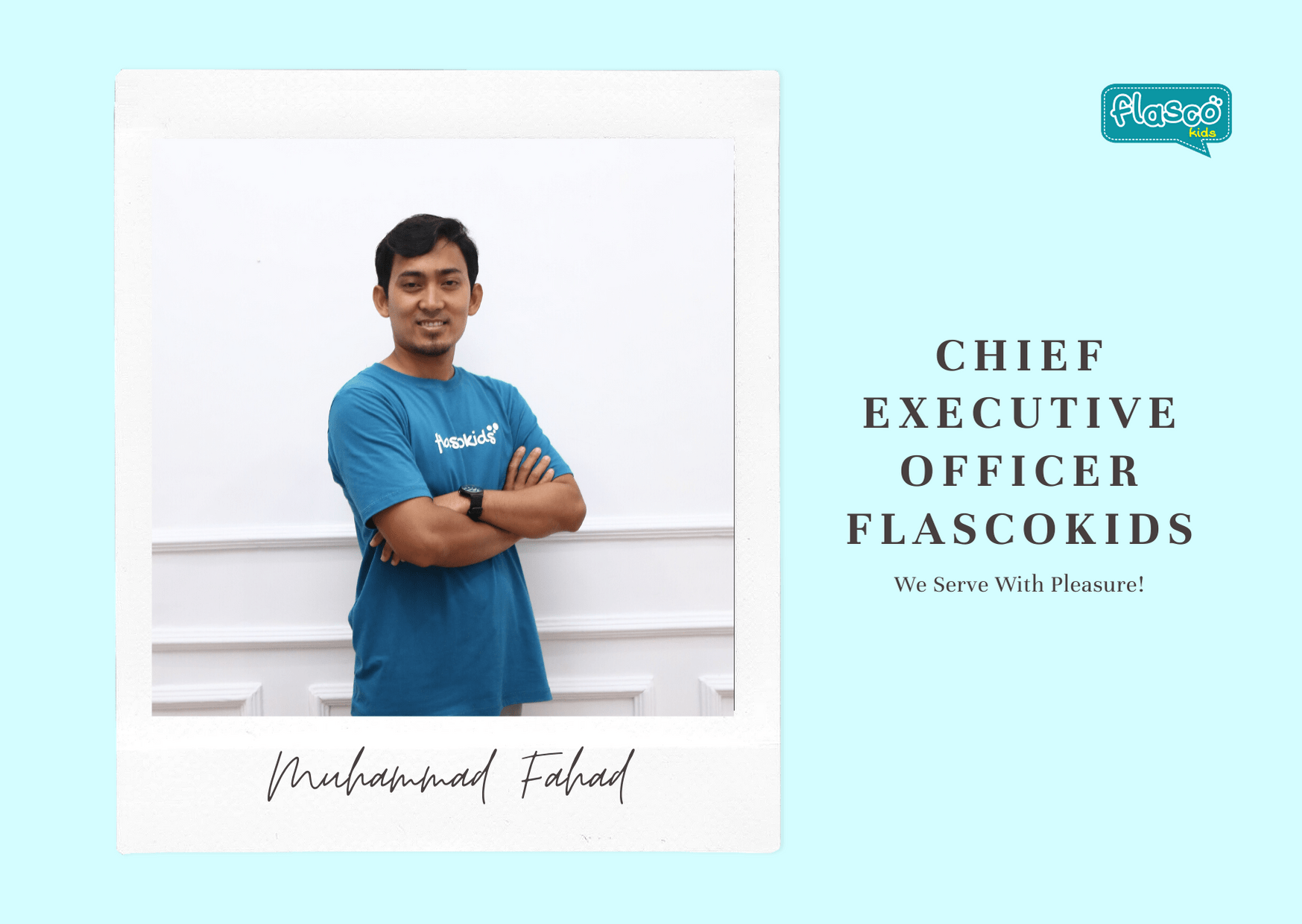 chief executive officer flascokids