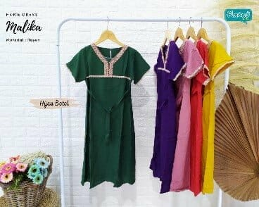 Baju Anak Malika Homedress Kids