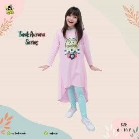 Baju Anak Set Tunik Legging Coolbee